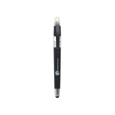 Picture of Ball Pen With Highlighter