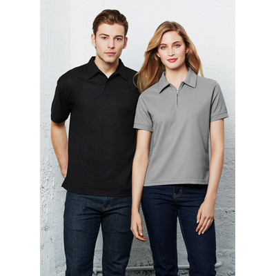 Picture of Ladies Micro Waffle Polo