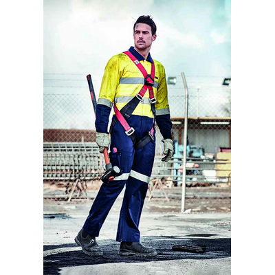 Picture of Mens Rugged Cooling Taped Overall