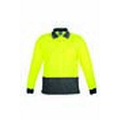 Picture of Mens Comfort Back LS Polo