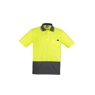 Picture of Mens Comfort Back SS Polo