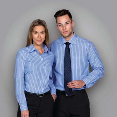 Picture of The Euro Corporate Stripe Shirt - Wmns