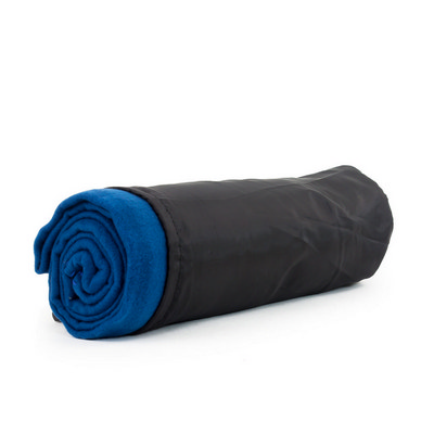 Picture of Blanket In Pouch - Teal Blue