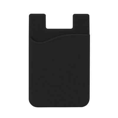 Picture of Silicone Phone Card Holder - Black