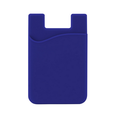 Picture of Silicone Phone Card Holder - Reflex Blue