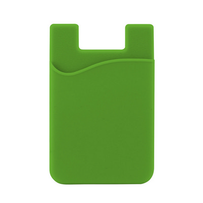Picture of Silicone Phone Card Holder - Lime