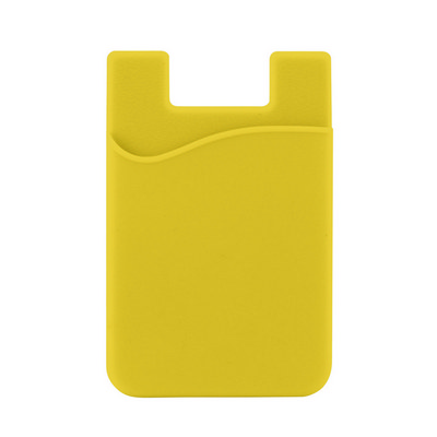 Picture of Silicone Phone Card Holder - Yellow