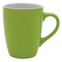 Bella Coffee Cup - Lime/White