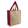 Jute Carry All - Red