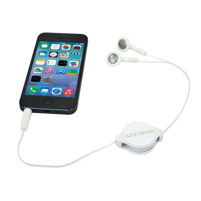 Picture of RETRACTABLE EARBUDS - WHITE