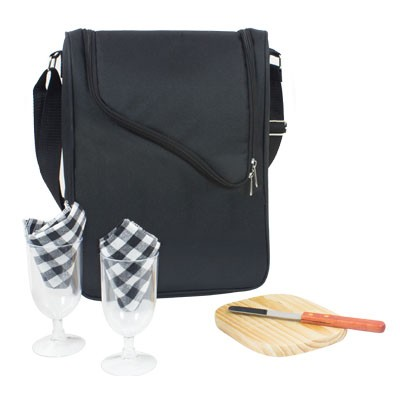 Picture of WINE AND CHEESE COOLER BAG
