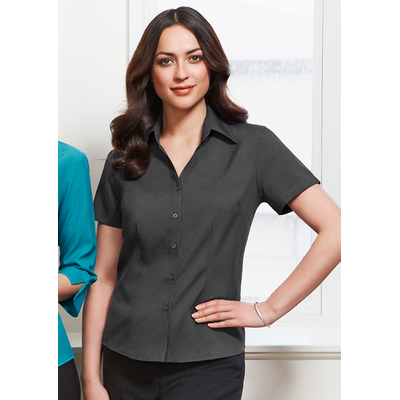 Picture of Ladies Plain Oasis Short Sleeve Shirt