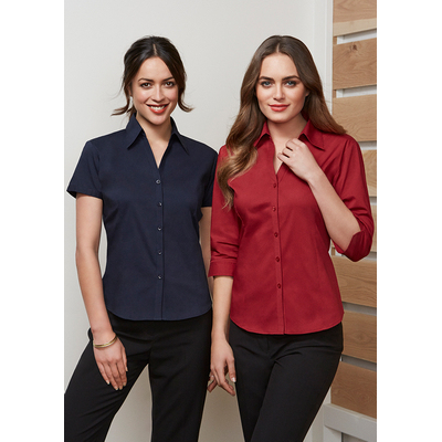 Picture of Ladies Metro 3/4 Sleeve Shirt