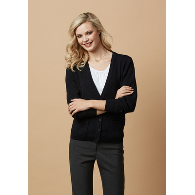 Picture of Ladies Woolmix Cardigan