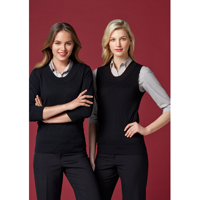 Picture of Ladies 80/20 Wool-Rich Vest