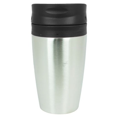 Picture of VIENNA THERMO MUG - BLACK/SILVER