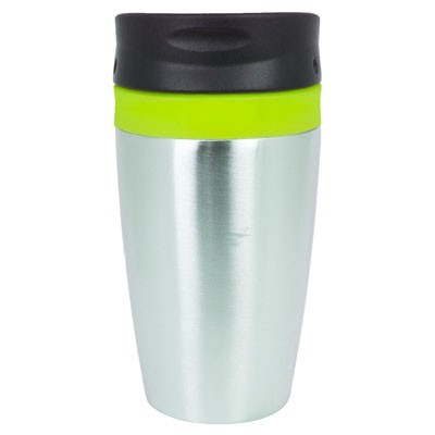 Picture of VIENNA THERMO MUG - LIME / SILVER