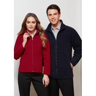Picture of Mens Plain Microfleece Jacket