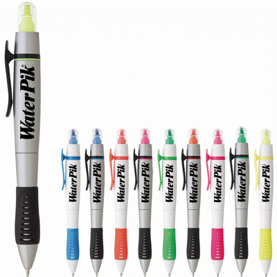 Picture of Dual-Tip Pen-Highlighter