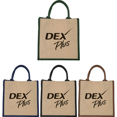 Picture of The Medium Jute Gift Tote