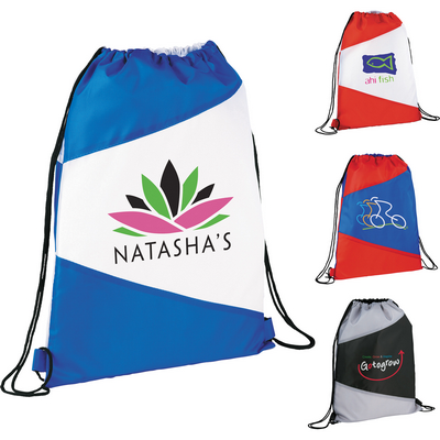 Picture of The Pennant Drawstring Cinch Backpack