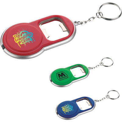 Picture of Round LED Key-Light / Bottle Opener