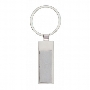 Slim Chrome Keyring