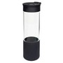 QUEST GLASS DRINK BOTTLE - BLACK